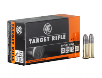 RWS Target Rifle Rim Fire Cartridges